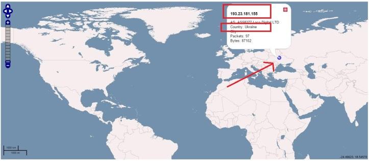 Map_Malicious_IP